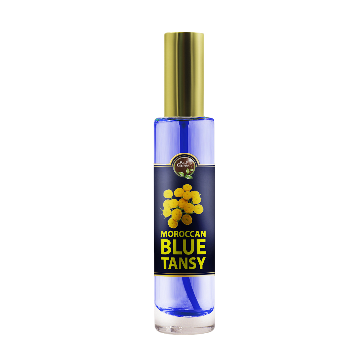 Moroccan Blue Tansy Essential Oil - Moroccan blue chamomile Essential Oil