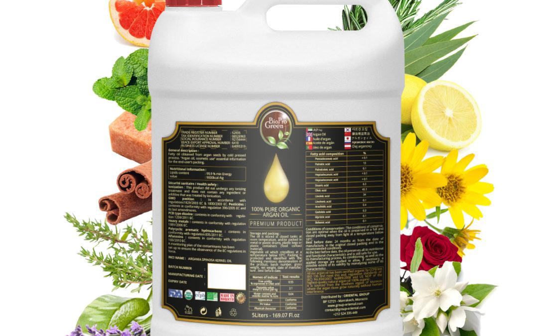 L'huile d'argan parfumée