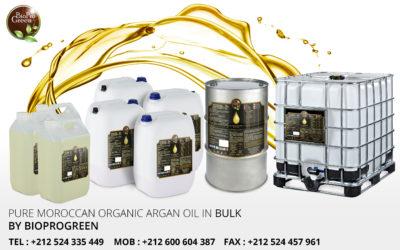 Wholesale Moroccan Argan Oil, USDA Certified Organic,100% Pure & Natural, Cold Pressed Virgin.