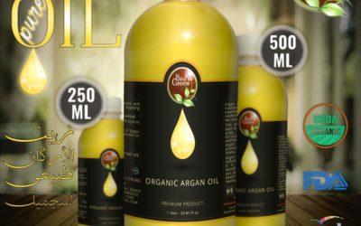 Best Hair Treatment Custom Logo Manufacturers Natural Morocco Argan Oil Hair Care Serum