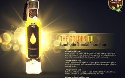 Organic Virgin and deodorized Argan Oil 100% Natural