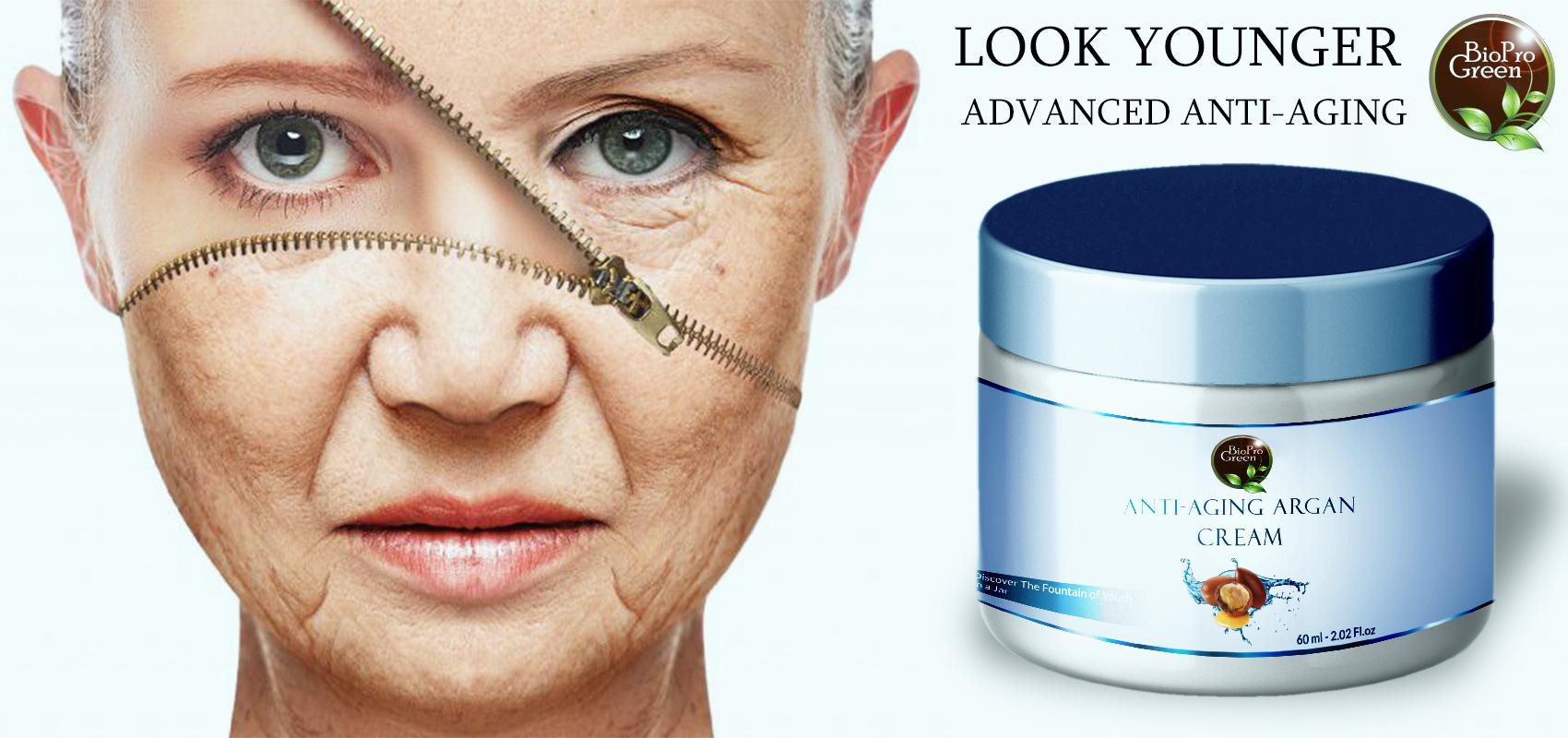 Argan anti-aging cream