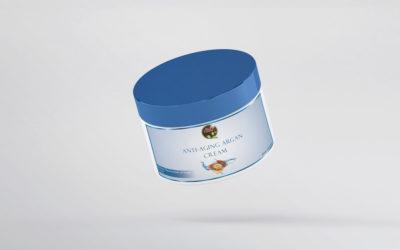 Moroccan Private Label Dark Circle Anti Wrinkle Eye Bags Removal Massager Anti-aging Organic Argan Oil Cream
