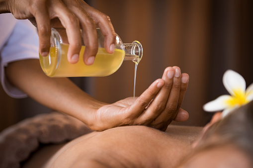 argan massage oil